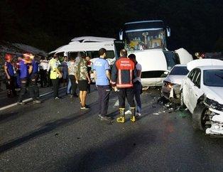 Bursa İnegöl'de korkunç kaza!
