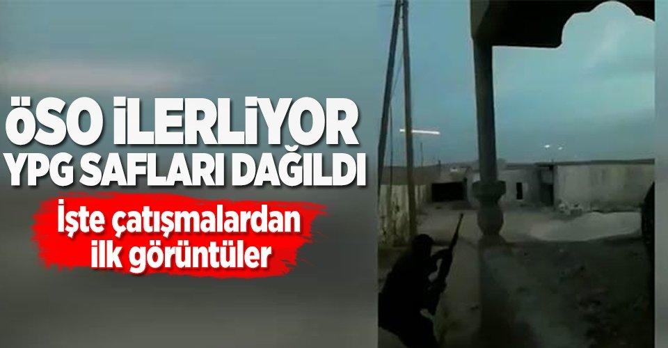 ÖSO, YPG ile çatışmaya başladı