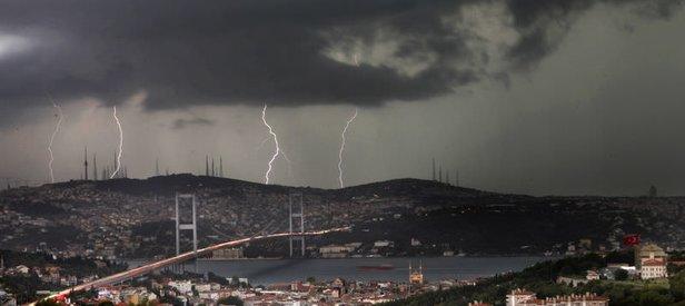 Meteoroloji'den son dakika 4 il için kuvvetli yağış uyarısı! Bugün hava nasıl olacak? 8 Ekim 2019 hava durumu
