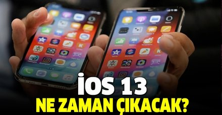 Yeniliklerle dolu iOS 13 güncellemesi geliyor! iOS 13 ne zaman çıkacak? Yeni özellikleri...
