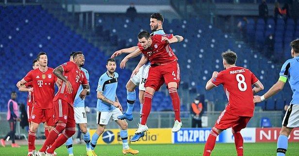 Bayern Münih'ten Lazio'ya fark