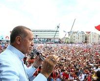"""Erdoğan: """"Haddini bileceksin"""""""
