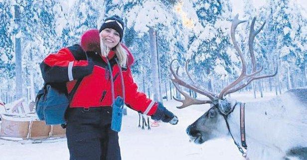 Finlandiya'da geyik hatırası