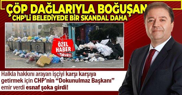 Çöp dağlarının esiri olan CHP'li belediyede şoke eden semt pazarı kararı
