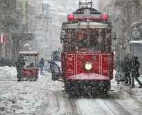 İstanbul ve birçok il için kar yağışı uyarısı!