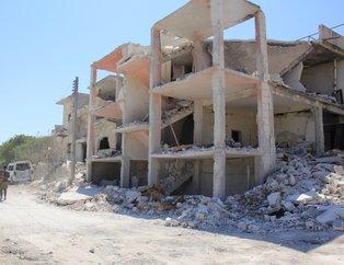 İşte Rusyanın İdlib saldırısının görüntüleri
