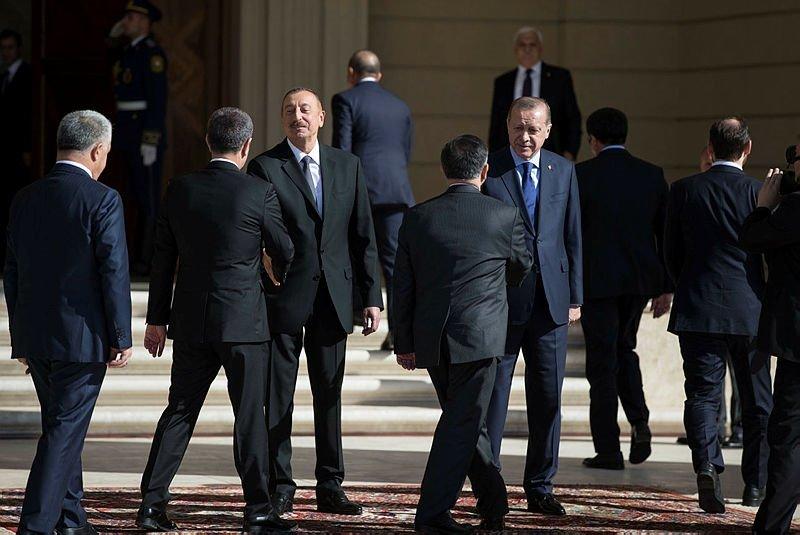Cumhurbaşkanı Erdoğan Azerbaycanda!