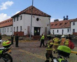 Kolombiya'da bombalı saldırı!