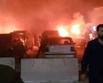 Azez'de bombalı terör saldırısı: Ölü ve yaralılar var