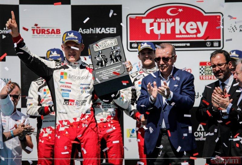 Başkan Erdoğan, WRC ödül törenine katıldı