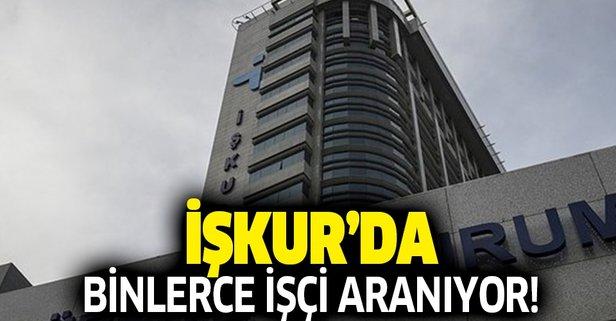 İŞKUR'da binlerce personel alımı yapılacak!
