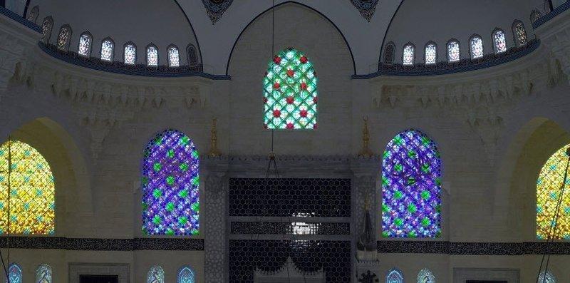 Çamlıca Caminde sona geliniyor