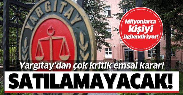 Yargıtay'dan emsal karar! Eşin haberi olmadan yapılamayacak!