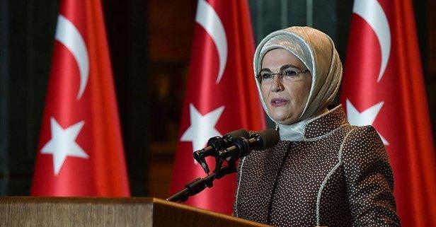 Emine Erdoğan'dan Umman Sultanı'nın eşine mektup