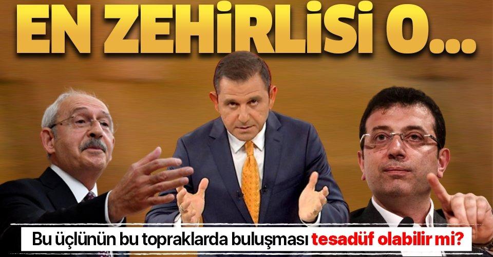 Fatih Portakal, Ekrem İmamoğlu ve Kemal Kılıçdaroğlu: Bu üçlünün bu topraklarda buluşması tesadüf olabilir mi?