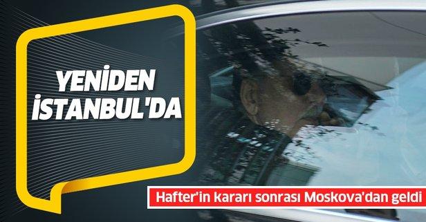 Libya Başbakanı Sarrac İstanbul'da