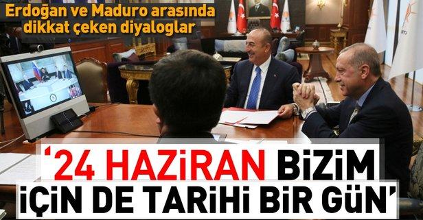 Erdoğan ve Maduro anlaşmayı böyle imzaladı