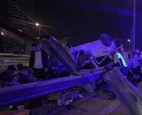 Maltepe'de korkunç kaza! Ölü ve yaralılar var