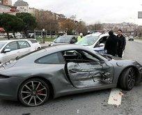İstanbul Kağıthane'de milyonluk kaza!