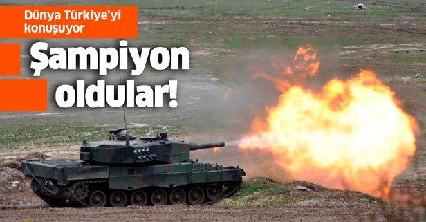Dünya Türkiye'yi konuşuyor! Şampiyon oldular