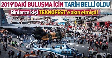 TEKNOFEST 17-22 Eylül'de İstanbul Atatürk Havalimanı'nda yapılacak