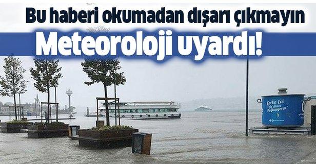 İstanbul'da bugün yağmur yağacak mı?