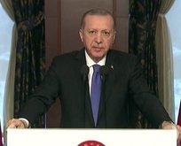 Başkan Erdoğan'dan TASC için video mesaj