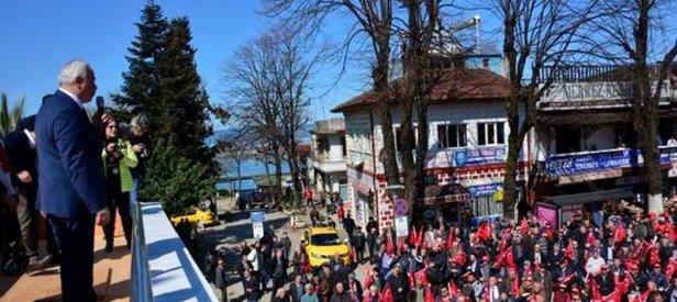 CHP'li Başkan hayır için toplananlara evet dedirtti!