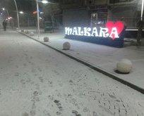 AKOM uyarmıştı! Kar yağışı başladı