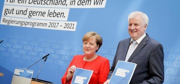 Almanyada genel seçimin galibi yüzde 33 ile Hristiyan Birlik (CDU/CSU) partileri olurken, aşırı sağcı popülist AFD ise ilk kez Federal Meclise girdi
