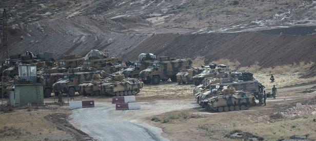 TSK, İdlib çatışmasızlık bölgesine intikal için keşif yaptı