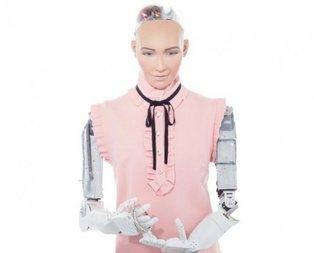 Dünyanın en ünlü robotu Türkiyede!