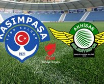 Kasımpaşa - Akhisarspor maçı hangi kanalda?