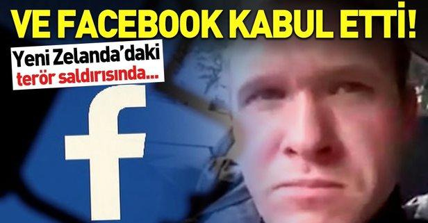 Facebook'tan Yeni Zelanda katliamı itirafı!
