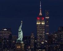 New Yorkun sembolü kırmızı-beyaz!