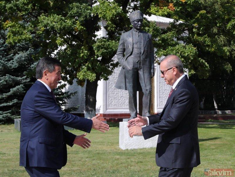 6. Devlet Başkanları Zirvesinden samimi kareler