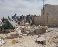 Suriye'de sığınmacı kampına hava saldırısı!