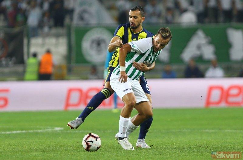Kanaryanın Elması Konyada parladı! I Atiker Konyaspor: 0 - Fenerbahçe: 1 (MAÇ SONUCU)