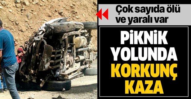 Hakkari'de korkunç kaza