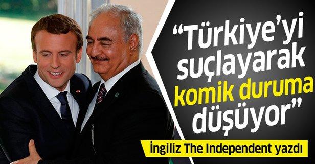 Türkiye'yi suçlayarak komik duruma düşüyor