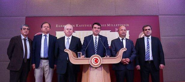 GATA'nın eski üyeleri Meclis'te