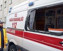 Ambulansın camlarını kırmışlardı! İstenen ceza belli oldu!