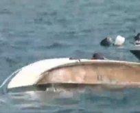 Zafer Bayramı etkinliğinde tekne alabora oldu