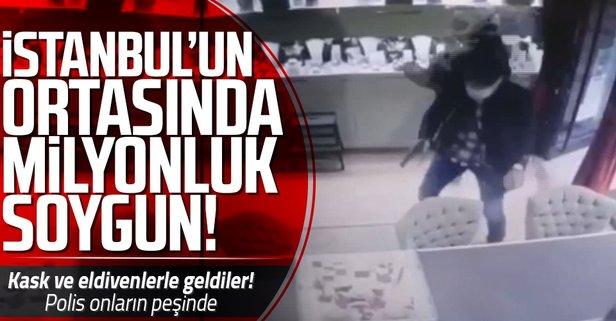 İstanbul'un milyonluk soygun! Polis her yerde onları arıyor