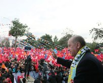 Başkan Erdoğan o şiiri aynı meydanda tekrar okudu!