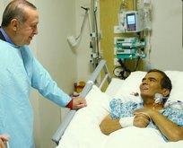 Erdoğan, kötü haberi sahnede aldı
