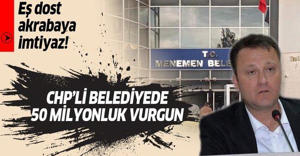 CHP'li belediyede 50 milyon liralık vurgun
