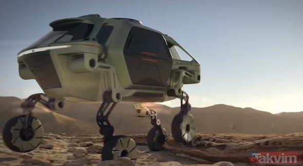Hyundai yaptı! Bu otomobil resmen yürüyor...
