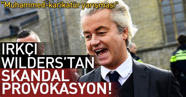 Irkçı Wildersten Müslümanlara yönelik provokasyon