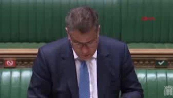 İngiltere Parlamentosu'nda koronavirüs paniği yaşandı! Bakanın testi pozitif çıktı